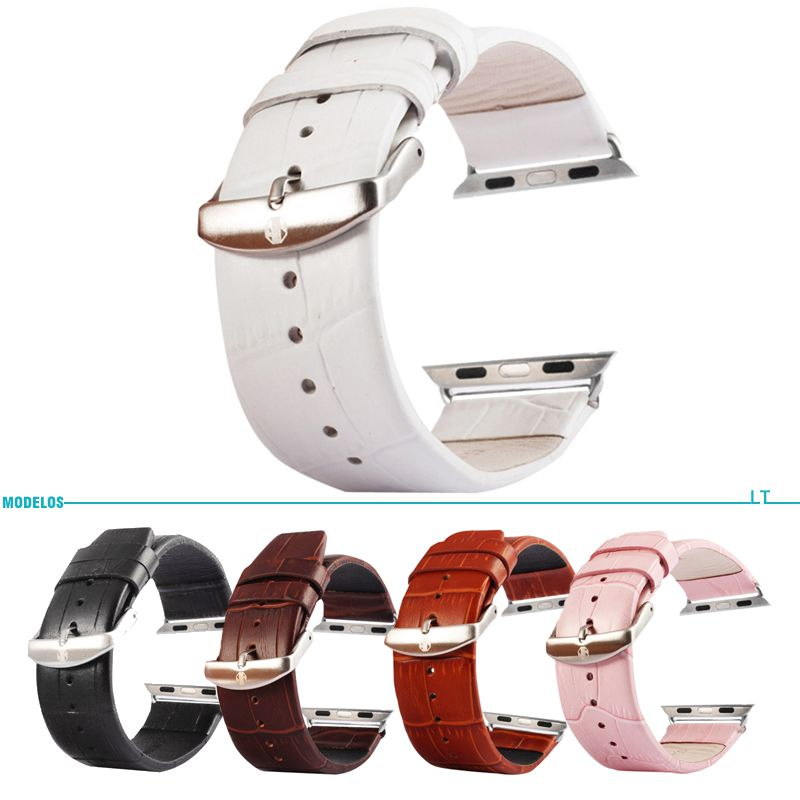 3463c28f434 Pulseira De Couro Original Apple Watch 4 44mm Apple Watch 3 42mm