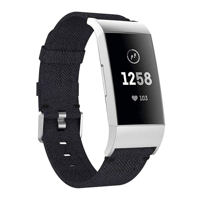 Pulseira de Nylon para Fitbit Charge 3