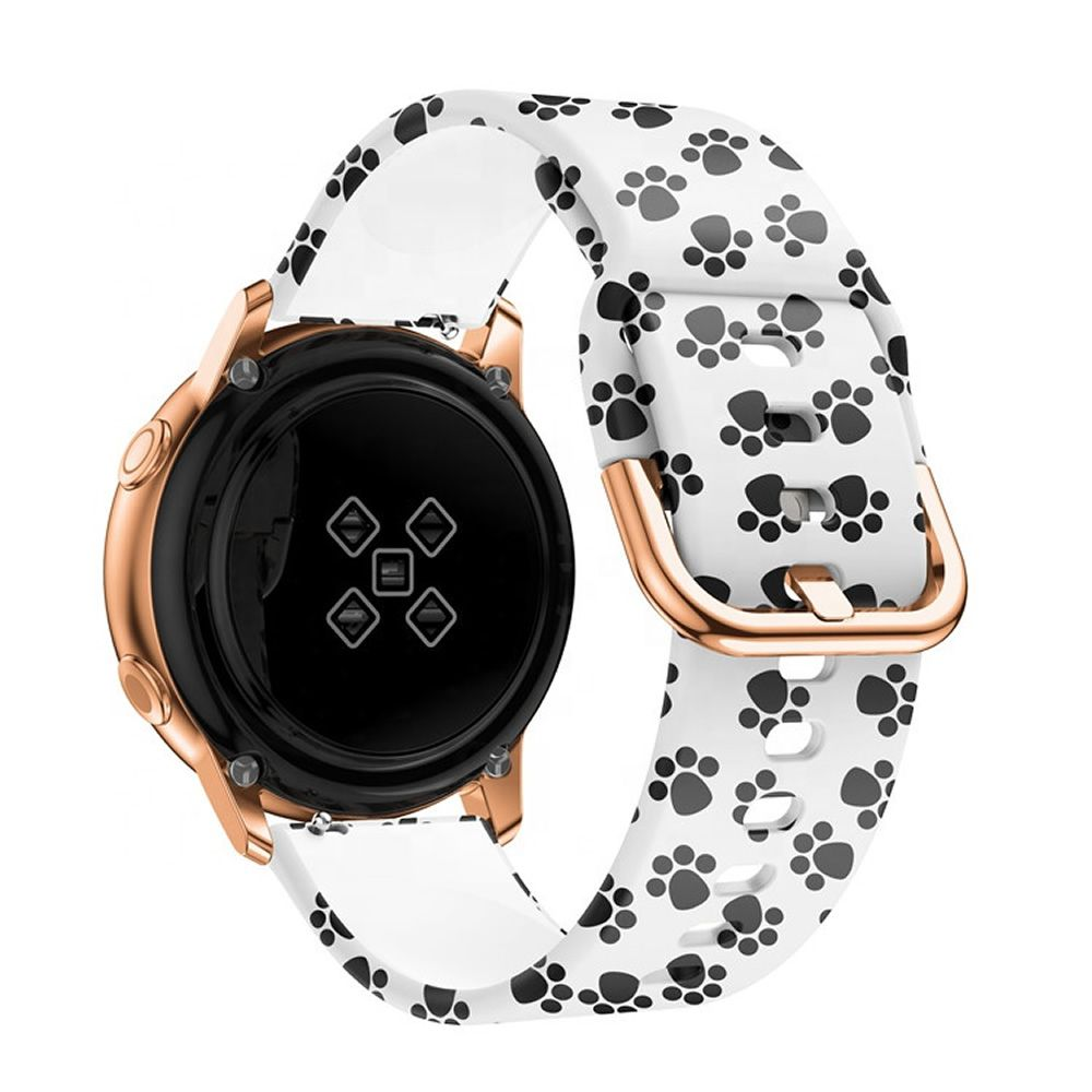 Pulseira Pata compatível com Samsung Galaxy Watch Active - Galaxy Watch 3 41mm - Galaxy Watch 42mm - Amazfit GTR 42mm