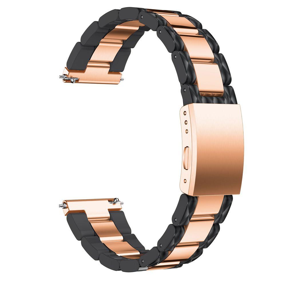 Pulseira Especial 3 Elos compatível com Samsung Galaxy Watch Active - Galaxy Watch 3 41mm - Galaxy Watch 42mm - Amazfit GTR 42mm