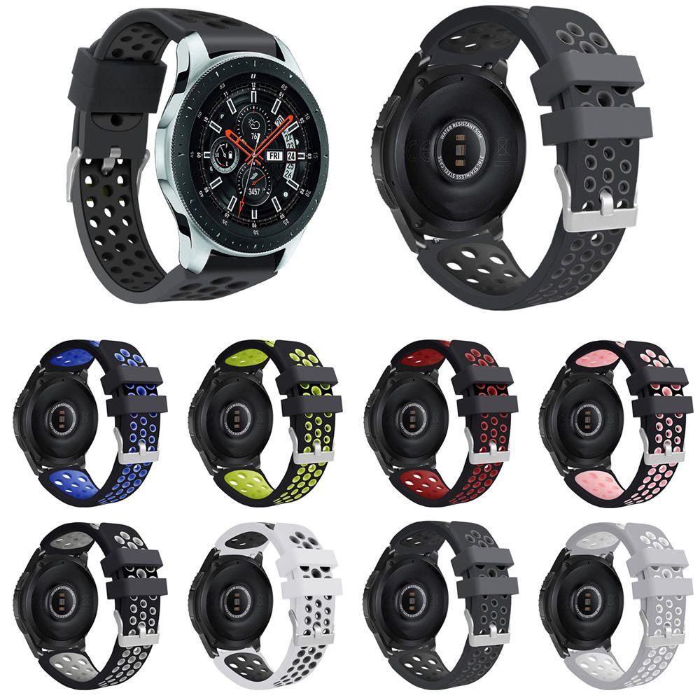 Pulseira Esportiva compatível com Samsung Gear S3 Frontier - Galaxy Watch 3 45mm - Galaxy Watch 46mm - Amazfit GTR 47mm