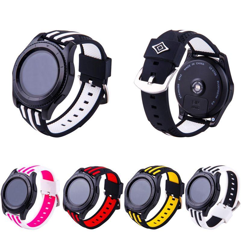 Pulseira F1 compatível com Samsung Gear S3 Frontier - Galaxy Watch 3 45mm - Galaxy Watch 46mm - Amazfit GTR 47mm - Stratos 3 - Huawei Watch GT 2 46mm