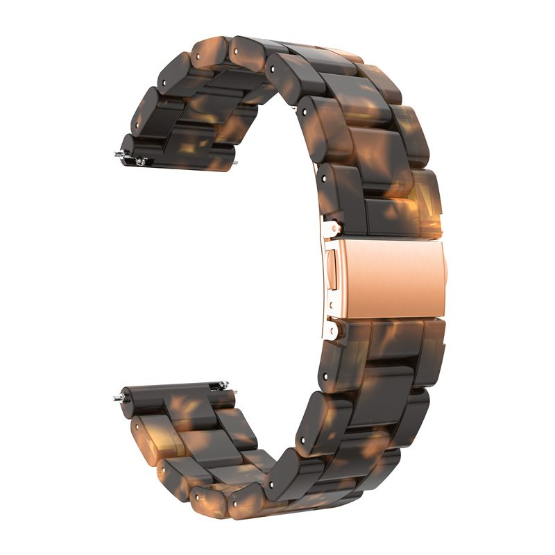 Pulseira Madrepérola para Samsung Galaxy Watch Active 40mm e 44mm - Gear S2 Classic - Galaxy Watch 42mm - Amazfit GTR 42MM - Amazfit GTS (Tartaruga)