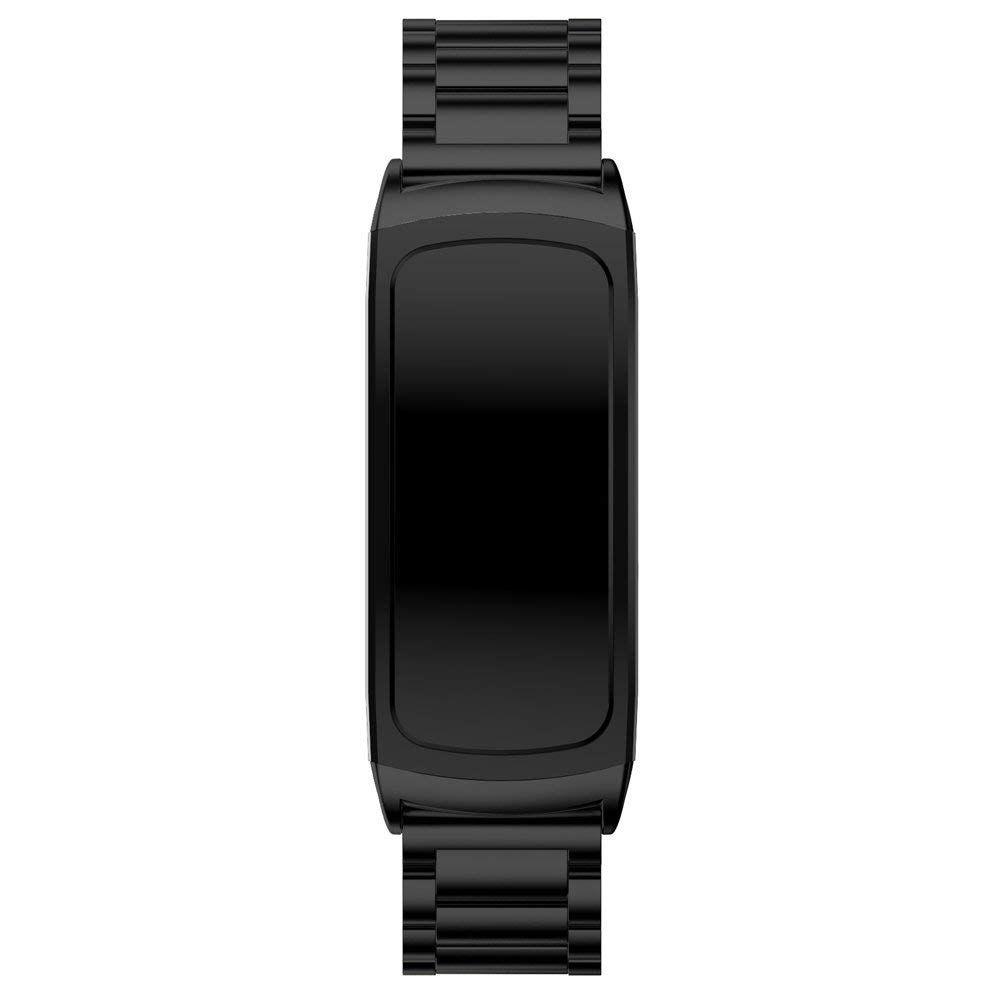 Pulseira Metal 3 Elos para Samsung Gear FIT 2 - Gear FIT 2 PRO - Preto