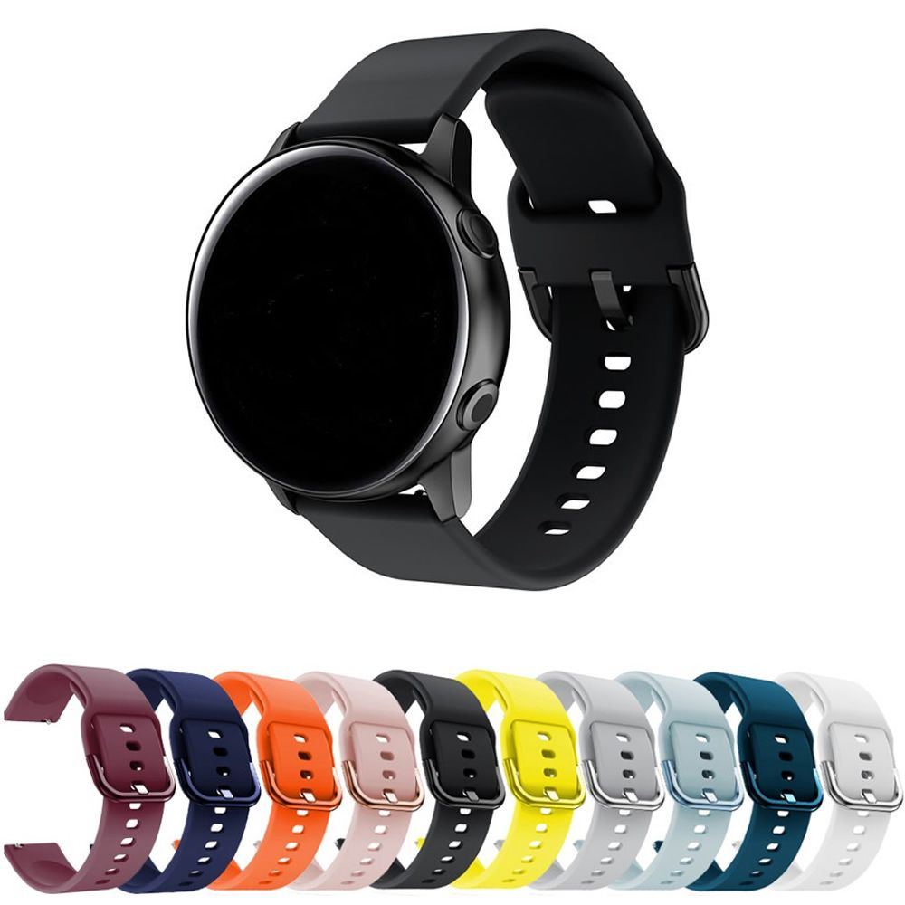 Pulseira Moderna 20mm compatível com Samsung Galaxy Watch Active 40mm 44mm - Galaxy Watch 3 41mm - Galaxy Watch 42mm - Amazfit GTR 42mm - Amazfit Bip