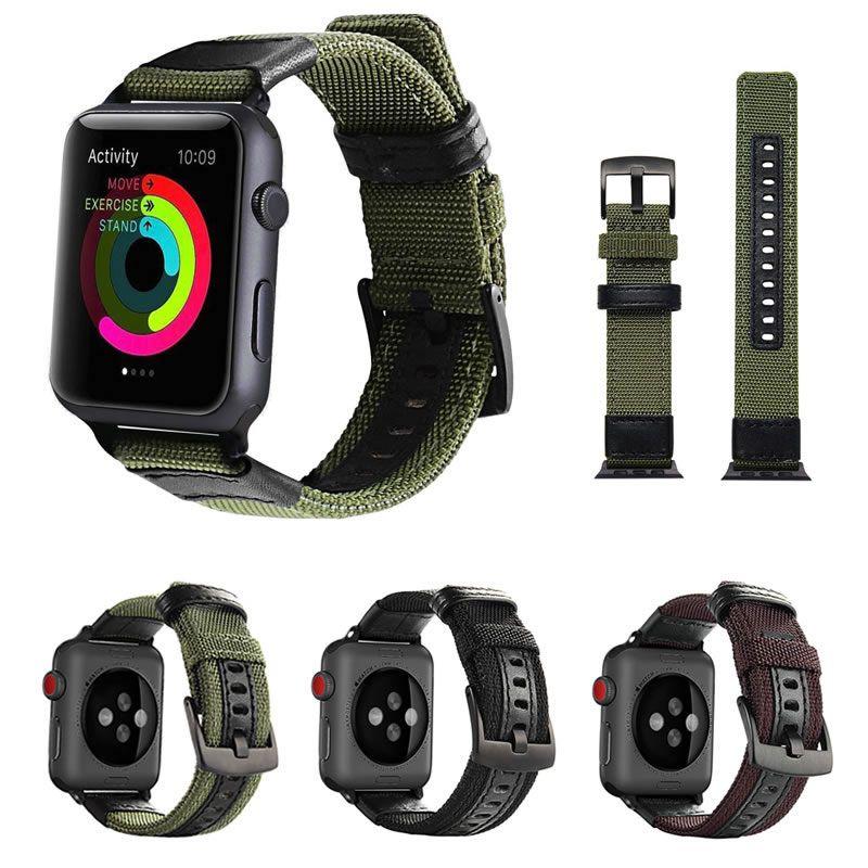 Pulseira Tour em Nylon compatível com Apple Watch 44mm e 42mm