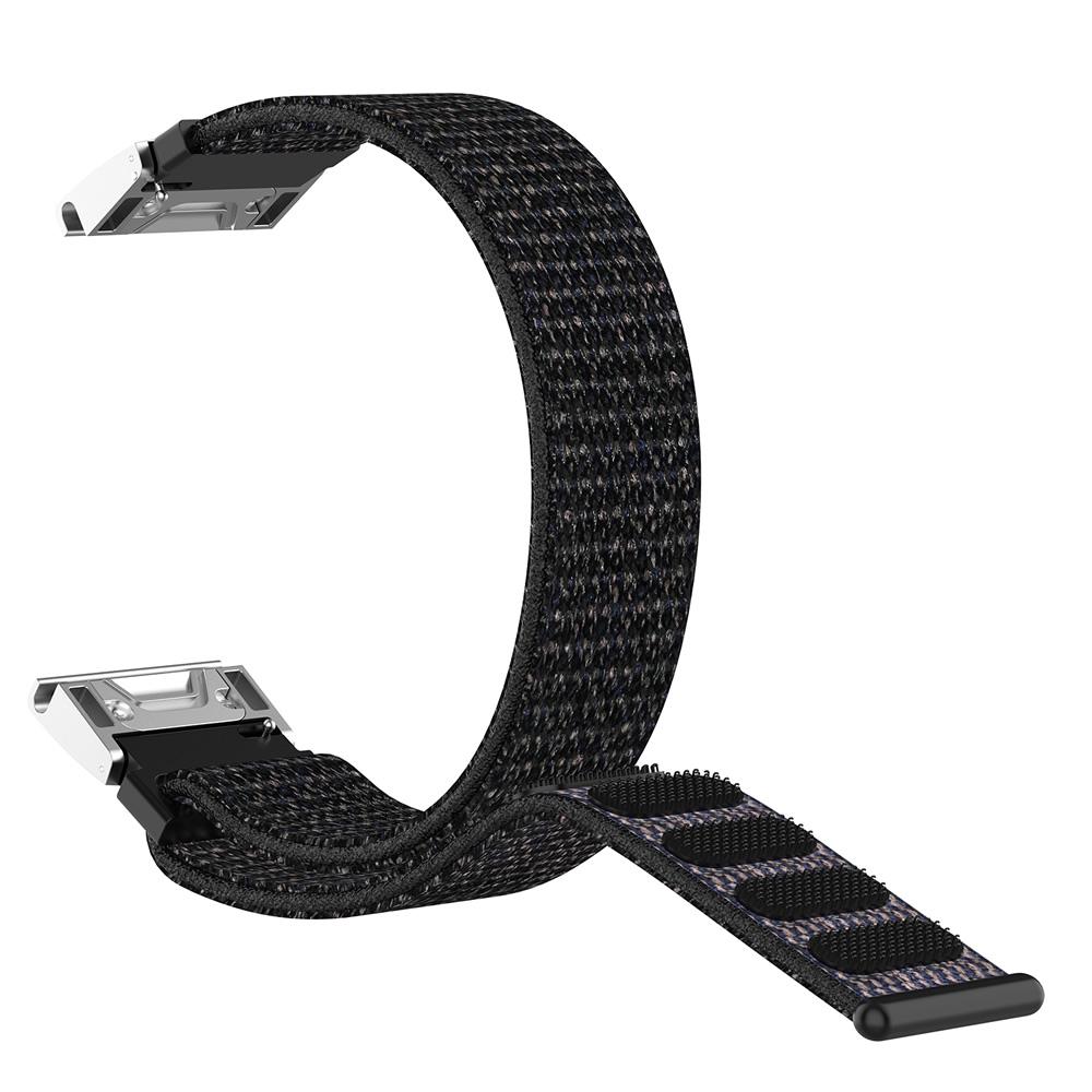 Pulseira Nylon Loop compatível com Garmin Fênix 5 - Fênix 5 Plus - Fênix 6 - Forerunner 935 - Forerunner 945