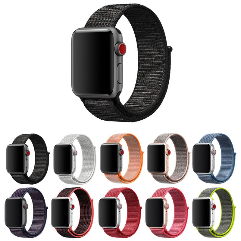 Pulseira Nylon Loop compatível com Apple Watch 40mm e 38mm