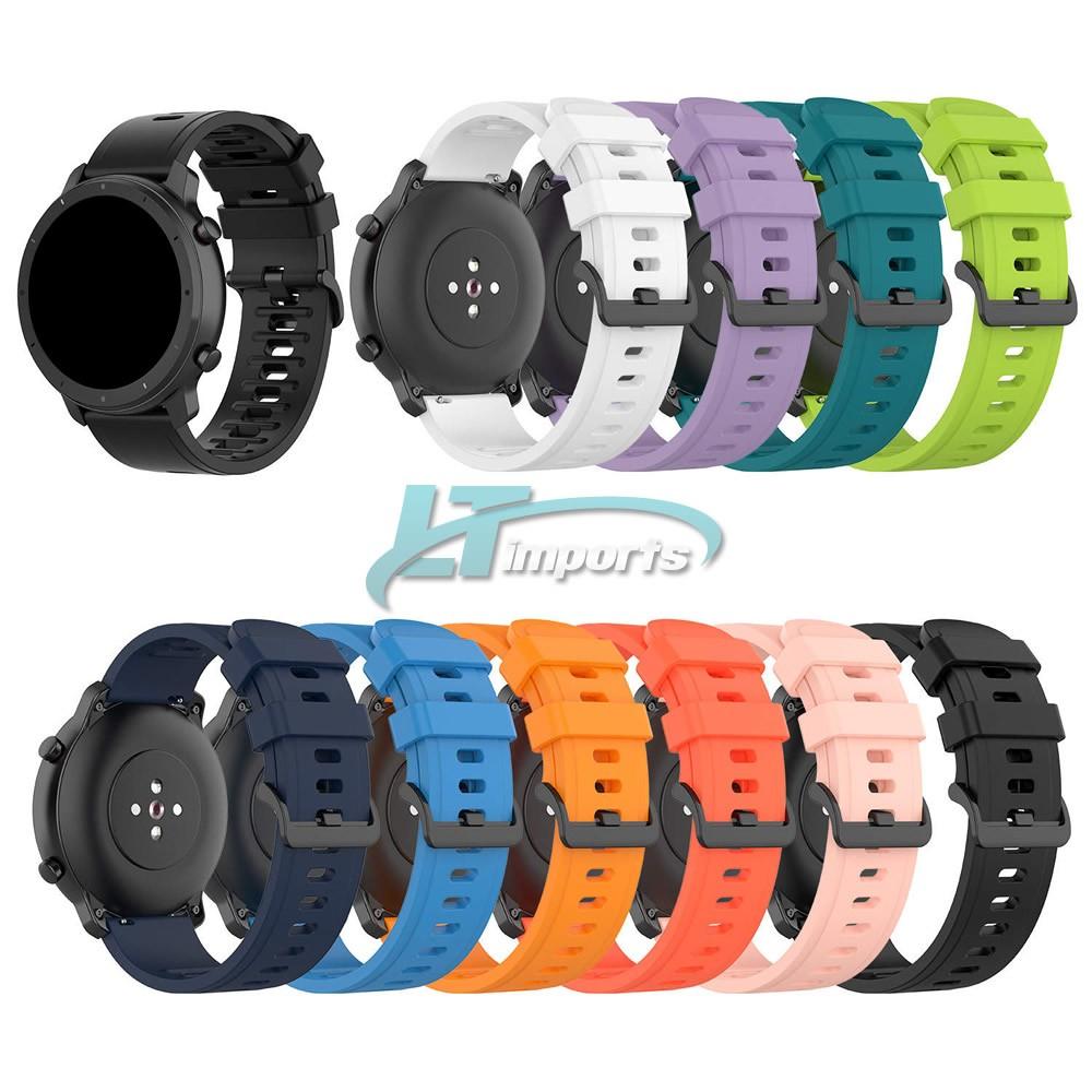 Pulseira Padrão 20mm compatível com Amazfit GTR 42mm - Amazfit Bip - Amazfit GTS - Galaxy Watch 3 41mm - Galaxy Watch Active - Galaxy Watch 42mm