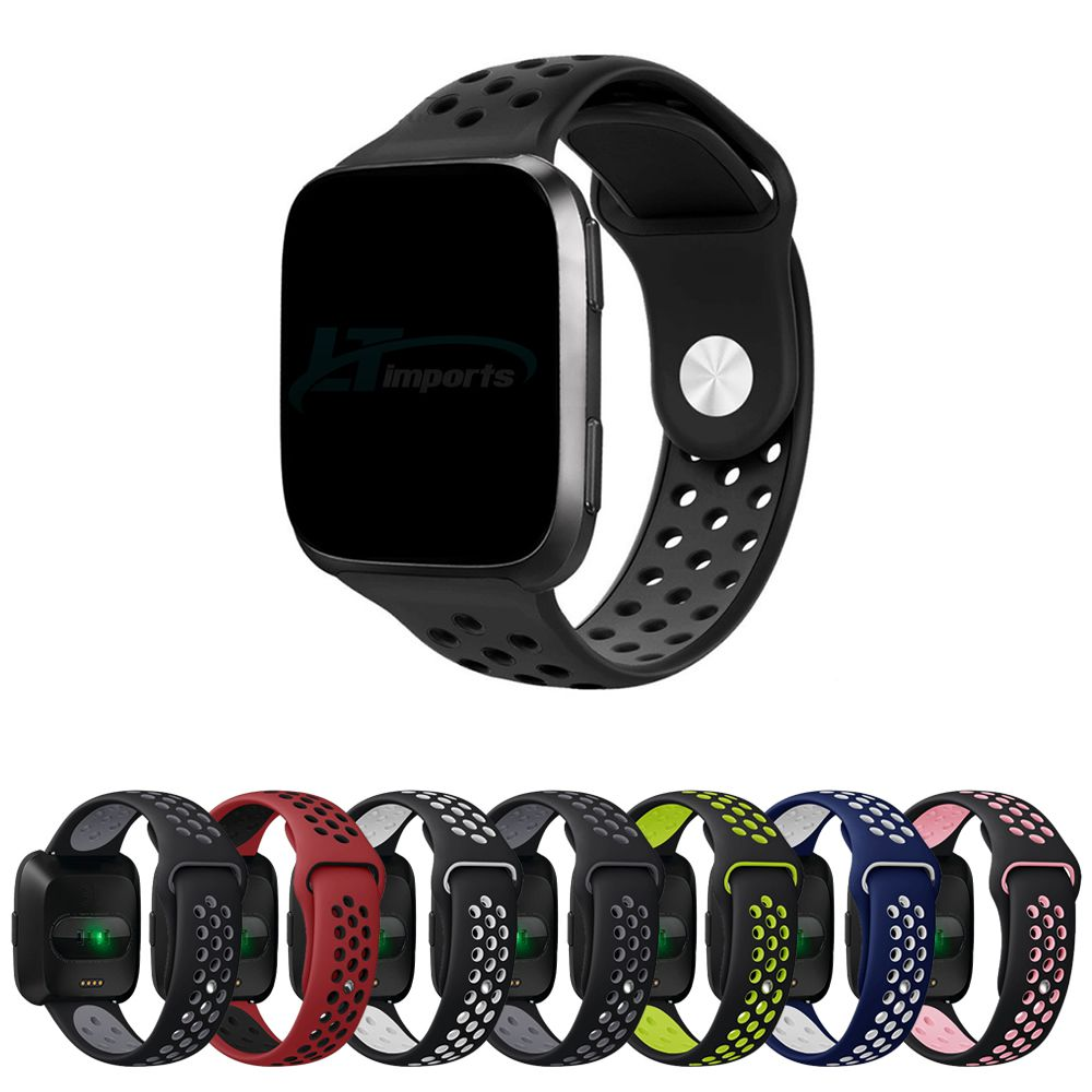 Pulseira Silicone NK Sport para Fitbit Versa - Fitbit Versa 2 - Fitbit Versa Lite
