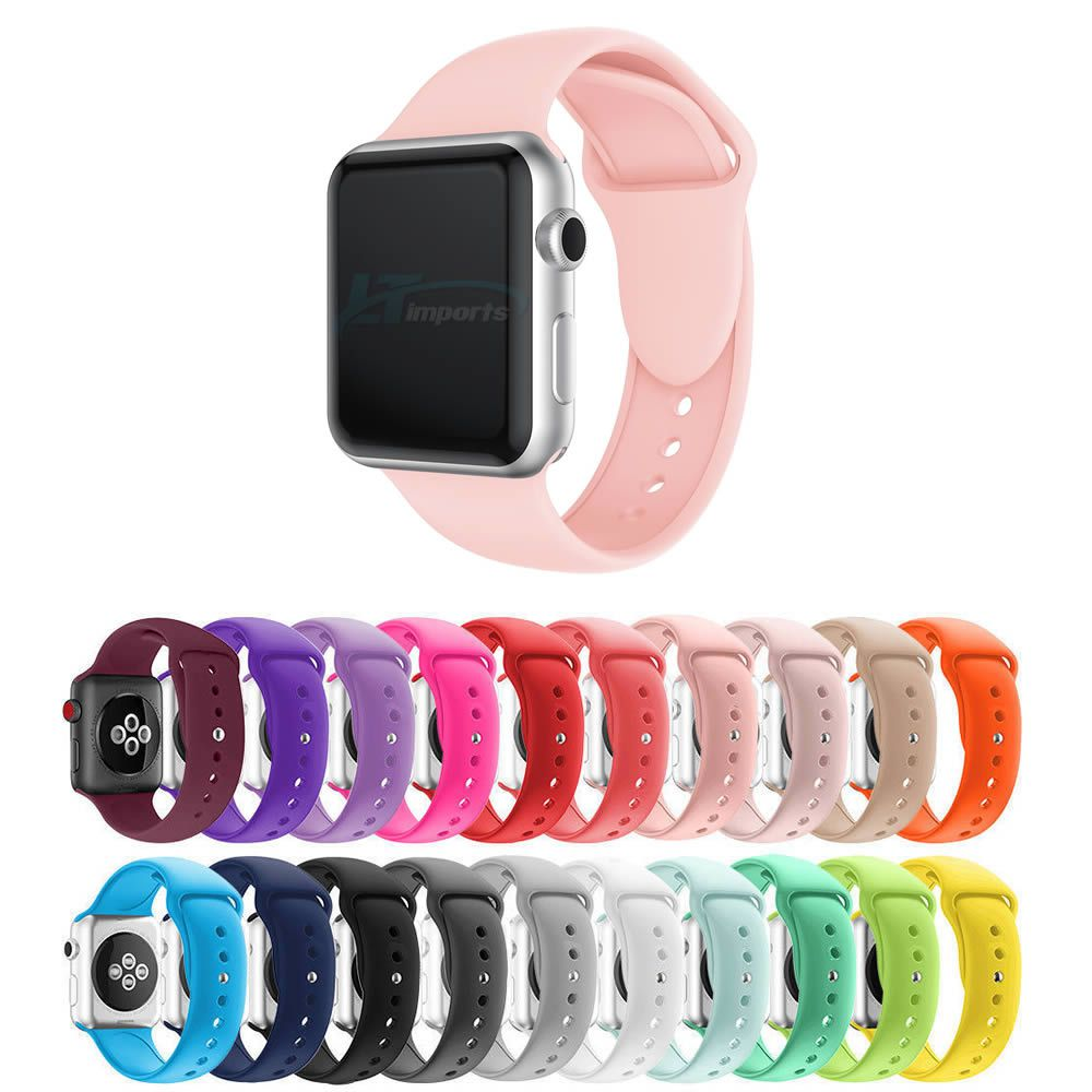 Pulseira Silicone compatível com Apple Watch 40mm e 38mm