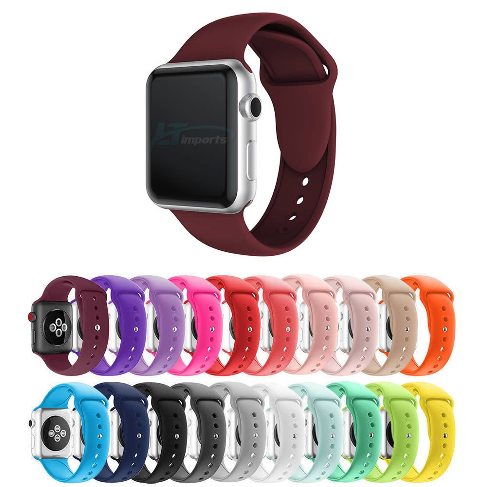 Pulseira Silicone compatível com Apple Watch 44mm e 42mm