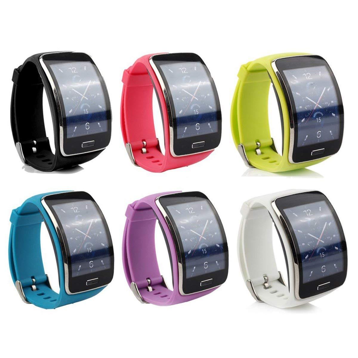 8323191811e Pulseira Silicone Para Samsung Gear S R750 SM-R750   Pulseira de ...