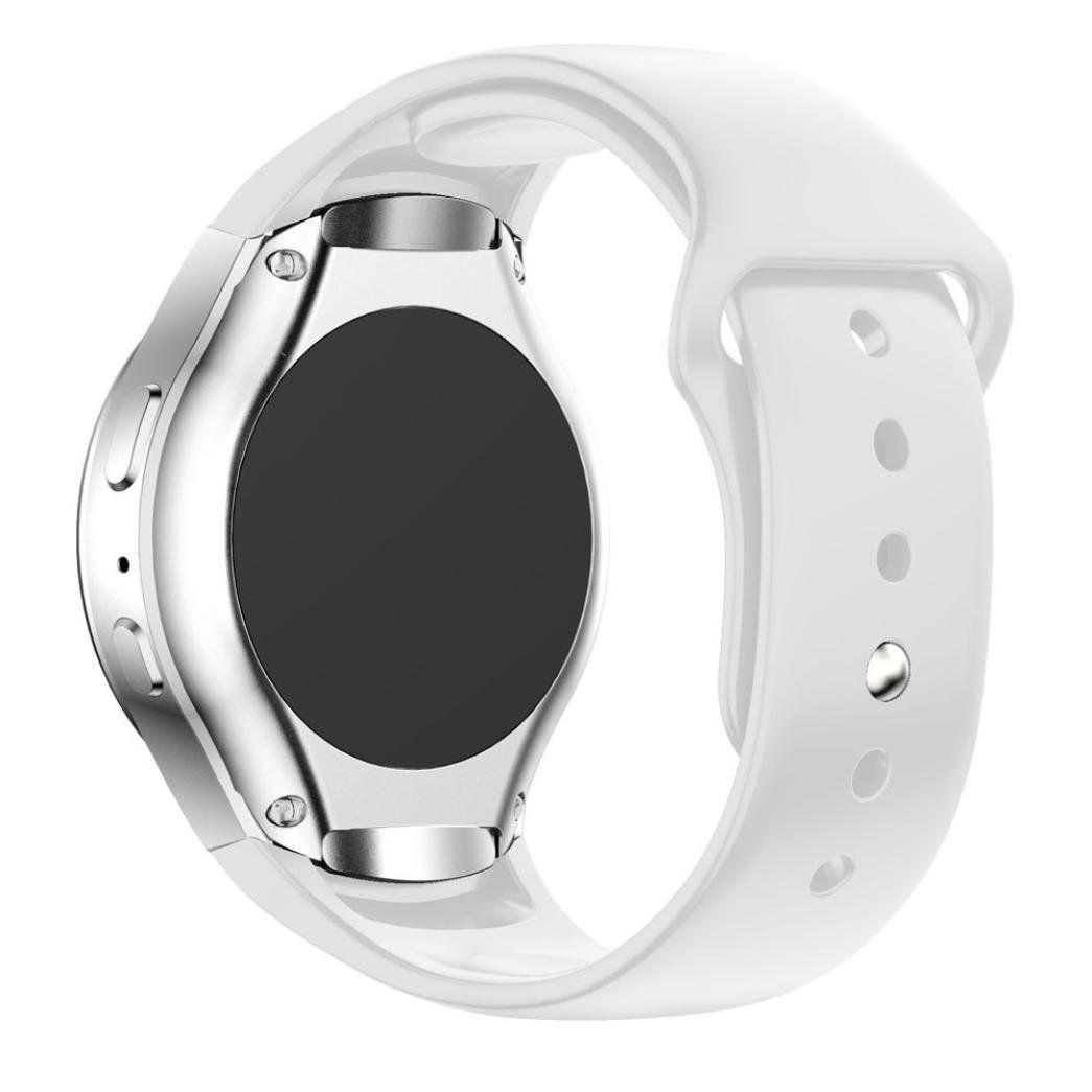 Pulseira Silicone para Samsung Gear S2 Sport (Branco)