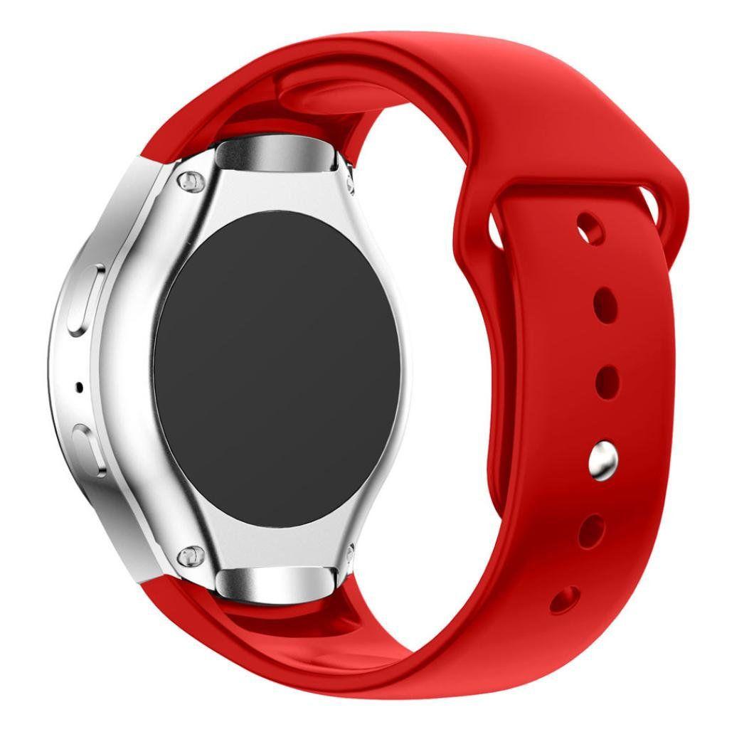 Pulseira Silicone para Samsung Gear S2 Sport (Vermelho)