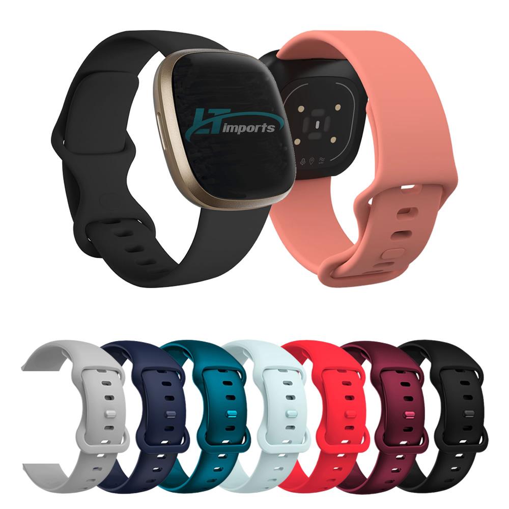 Pulseira Sport Borboleta compatível com Fitbit Versa 3 - Fitbit Sense