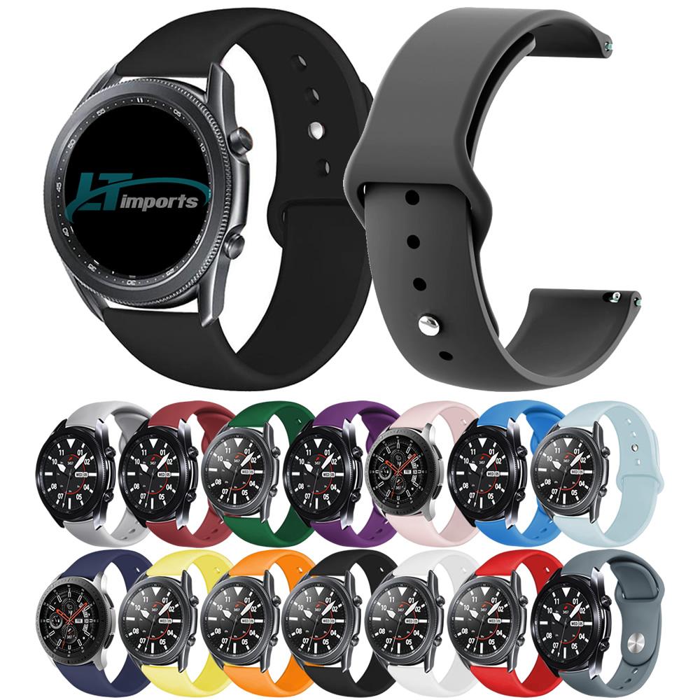 Pulseira Sport Lisa 22mm compatível com Samsung Galaxy Watch 3 45mm - Galaxy Watch 46mm - Gear S3 Frontier - Amazfit GTR 47mm