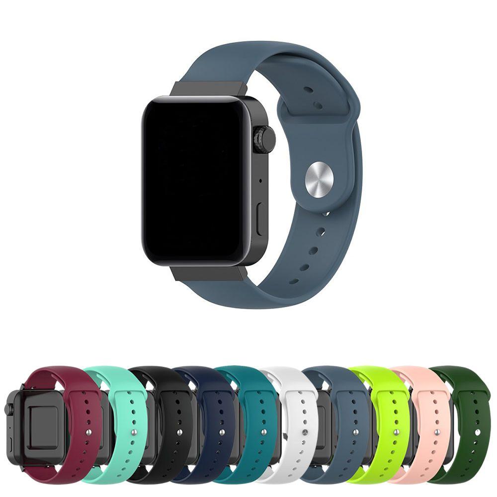 Pulseira Sport Lisa 18mm para Relogio Smartwatch que usa pulseira de 18mm