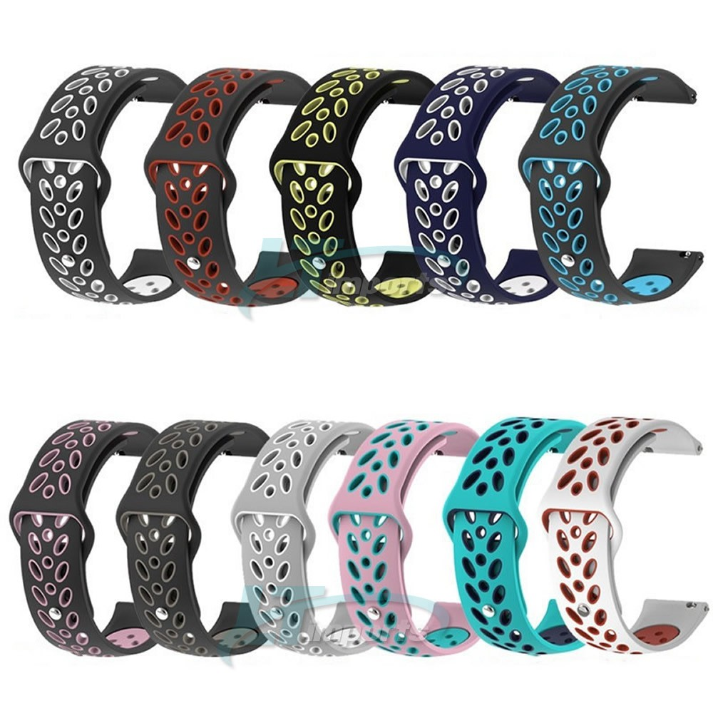 Pulseira Sport V3 para Samsung Galaxy Watch Active 2 40mm 44mm - Galaxy Watch 42mm - Amazfit Bip - Amazfit Gtr 42mm - Huawei Watch GT 2 42mm