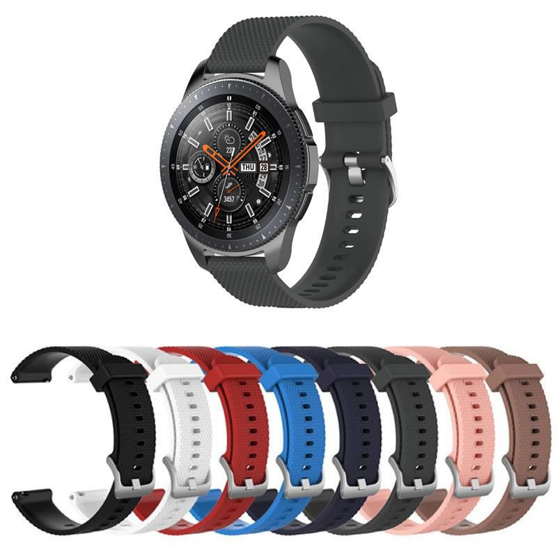 Pulseira TX Silicone compatível com Samsung Galaxy Watch 3 45mm - Galaxy Watch 46mm - Gear S3 Frontier - Amazfit GTR 47mm - Huawei Watch GT 2 46mm