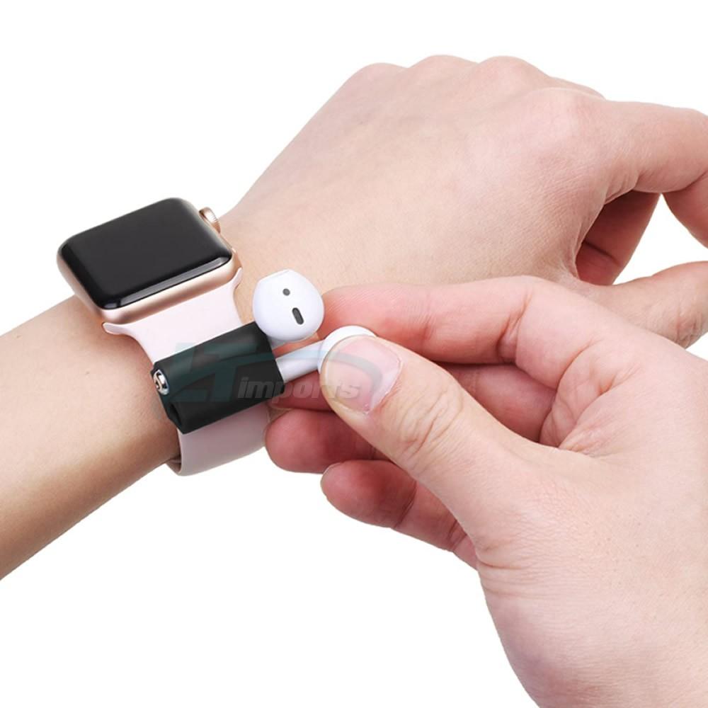 Suporte de fone de ouvido sem fio para pulseira de relógio smartwatch