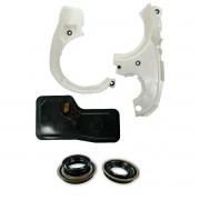 Kit Defletores Com Retentores e Filtro Cambio Automático 6t30