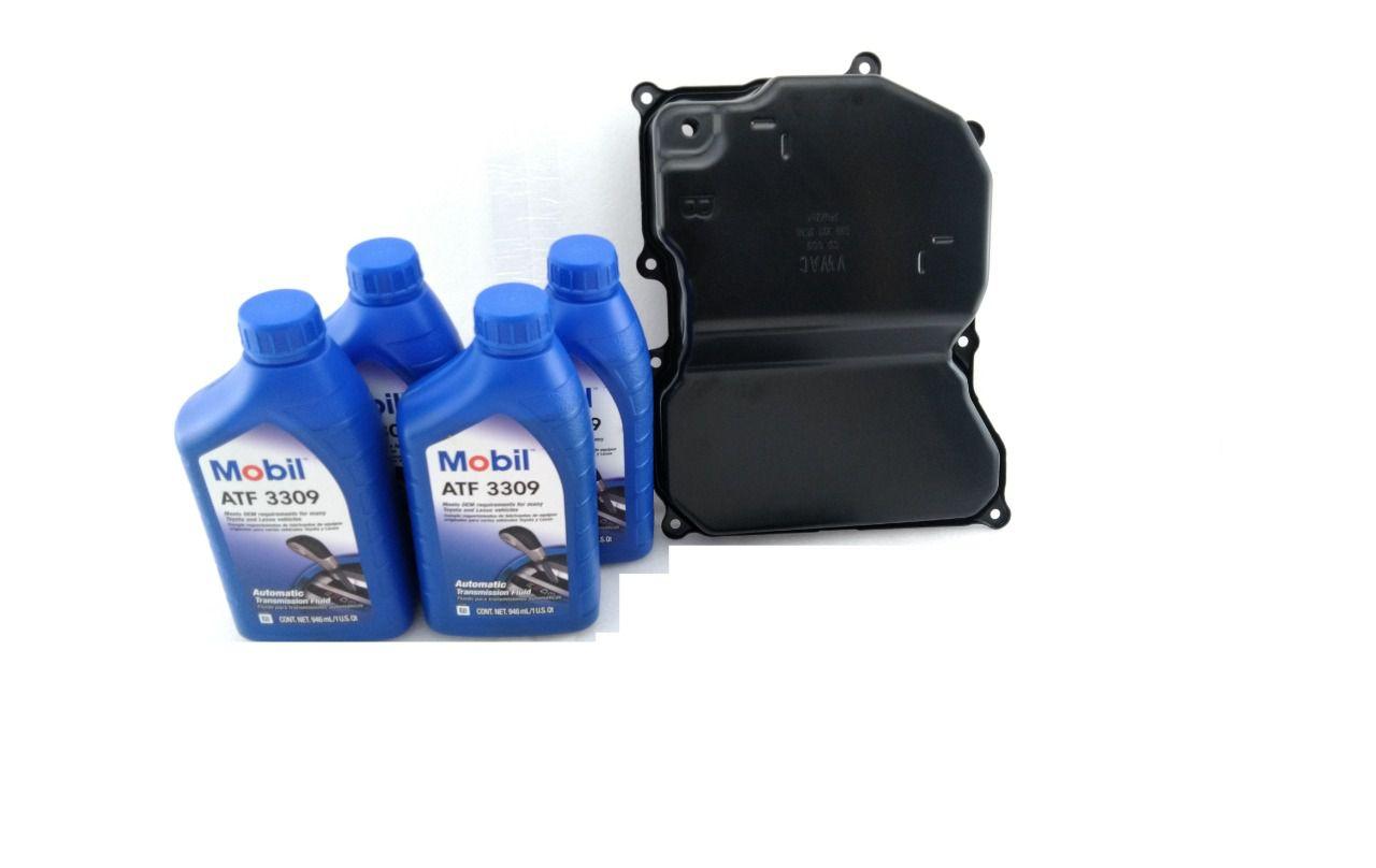 Carter B + 4 litros de Oleo Mobil 3309  para o Câmbio 09G