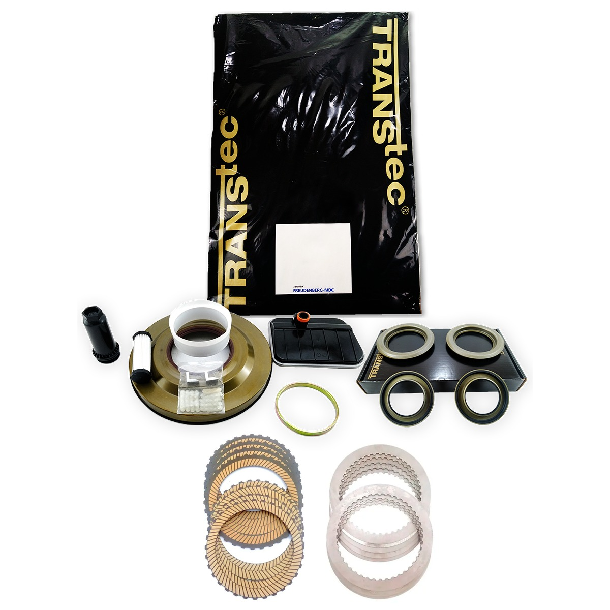 Kit Master Com Pistão Transtec Defletor E Filtros Cambio 6dct450 Mps6 Volvo
