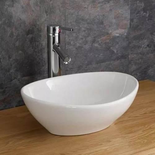 Cuba Apoio Banheiro Porcelana Sobrepor Cerâmica Louça 7007