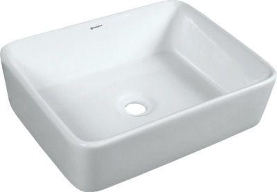Cuba Apoio Banheiro Porcelana Sobrepor Cerâmica Louça 38x49 cod0507