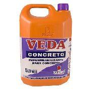 Veda Concreto 5lt Queveks Impermeabilizante Para Concreto
