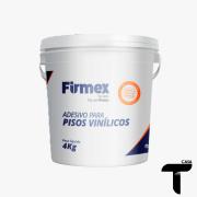 Cola Piso Vinílico Firmex 4kg - Rende até 20m2