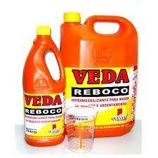 Kit 02 Veda Reboco E 01 Veda Concreto Queveks 5lts