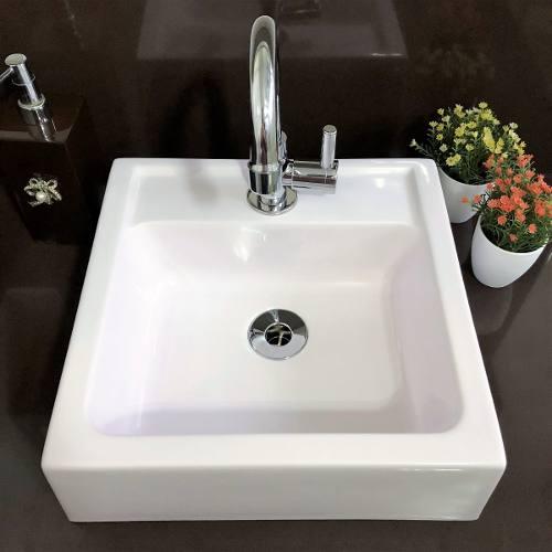 Cuba Apoio Banheiro Sercel Modelo Ferrara 35x34 Cm