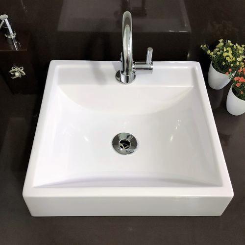 Cuba Apoio Banheiro Sercel Ravena Branca 41x38cm