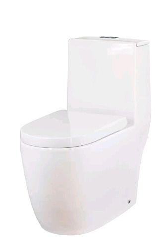 Vaso Sanitário Redondo Com Caixa Acoplada Nias + Assento Soft Close