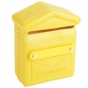 Caixa De Correio / Carta Pvc 26x19x10cm - Plastica