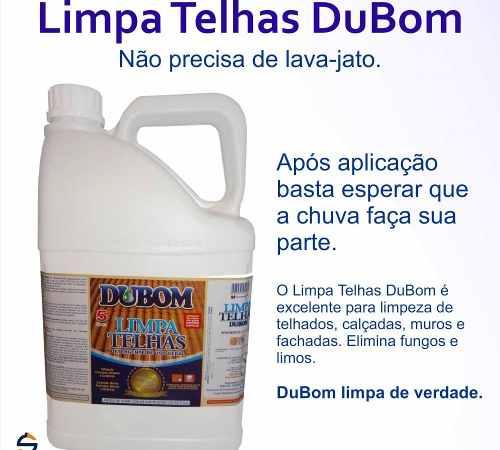 Limpa Telha Limpeza De Telhado 50lts Bombona Dubom