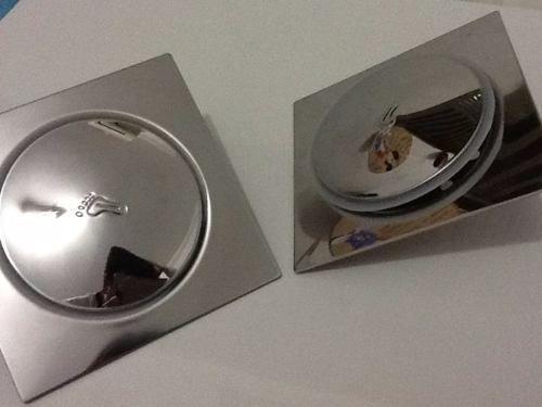 Ralo Inteligente Click Inox 15x15 Grande