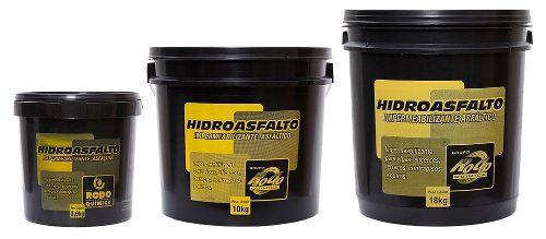 Impermeabilizante Asfáltico Hidroasfalto 18kg