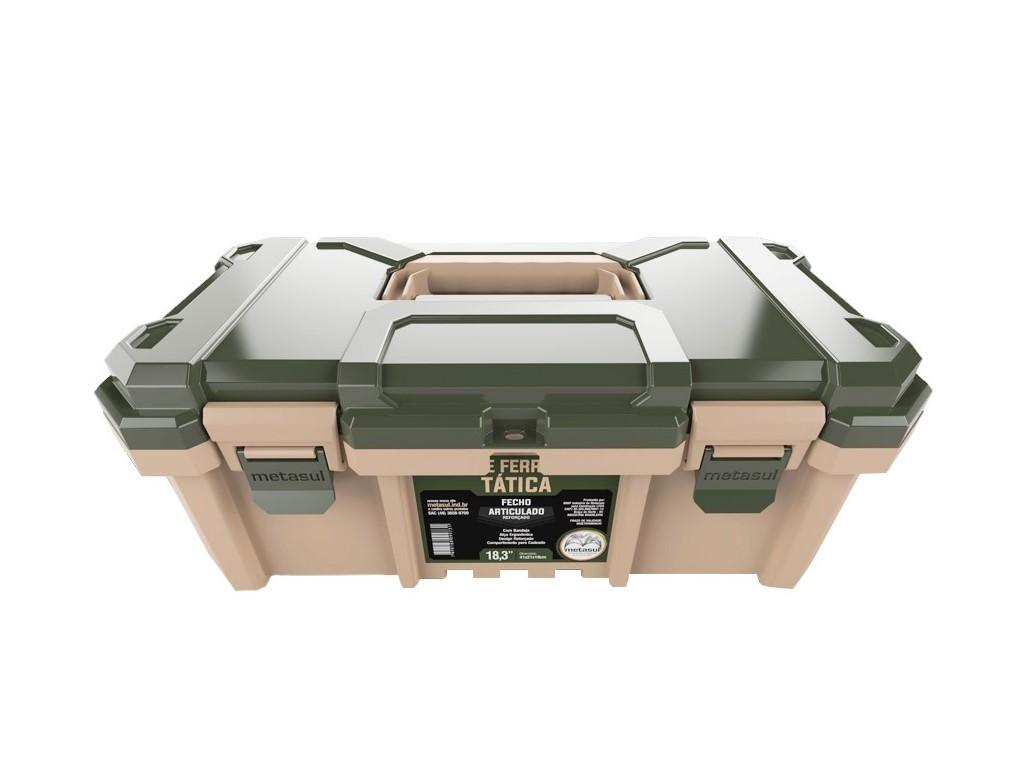 Caixa de ferramentas tática - Verde