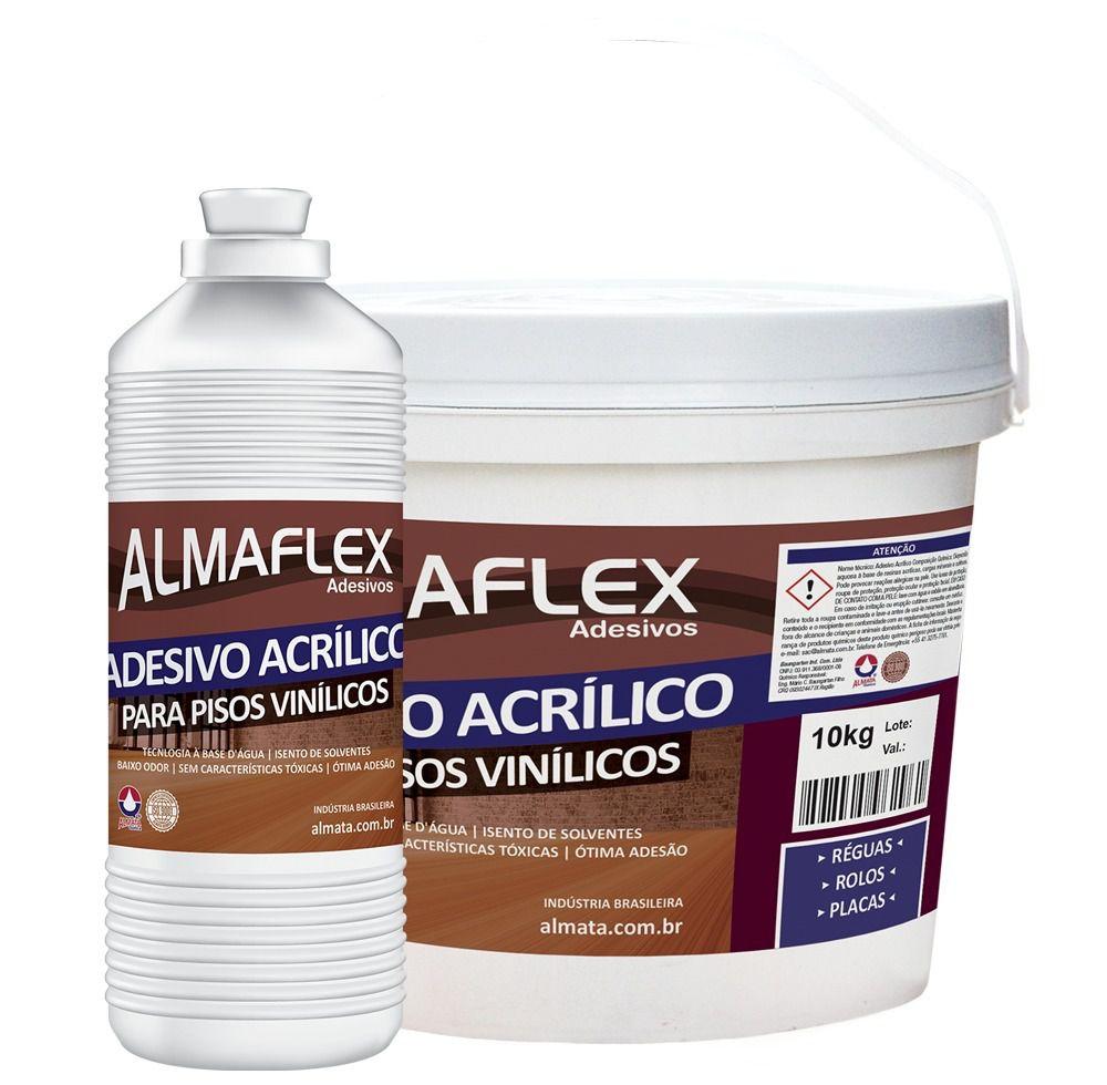 Cola Piso Vinílico Almaflex 3,5L - Rende até 24m2