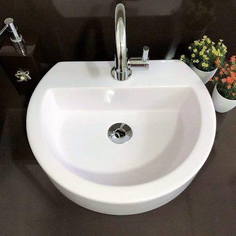 Cuba Apoio Banheiro Sercel Modelo Carrara 42x35cm