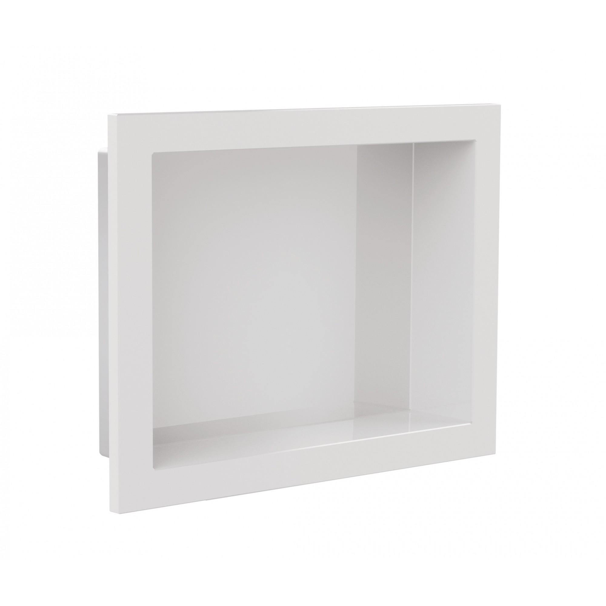 Nicho Para Banheiro Parede Embutir 30x40cm Branco