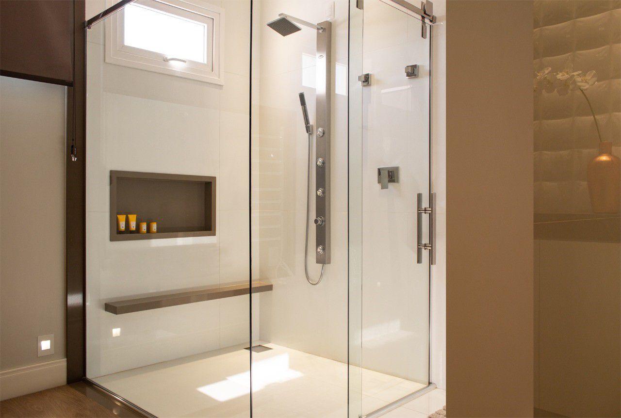 Nicho Para Banheiro Parede Embutir 30x60cm Cappuccino