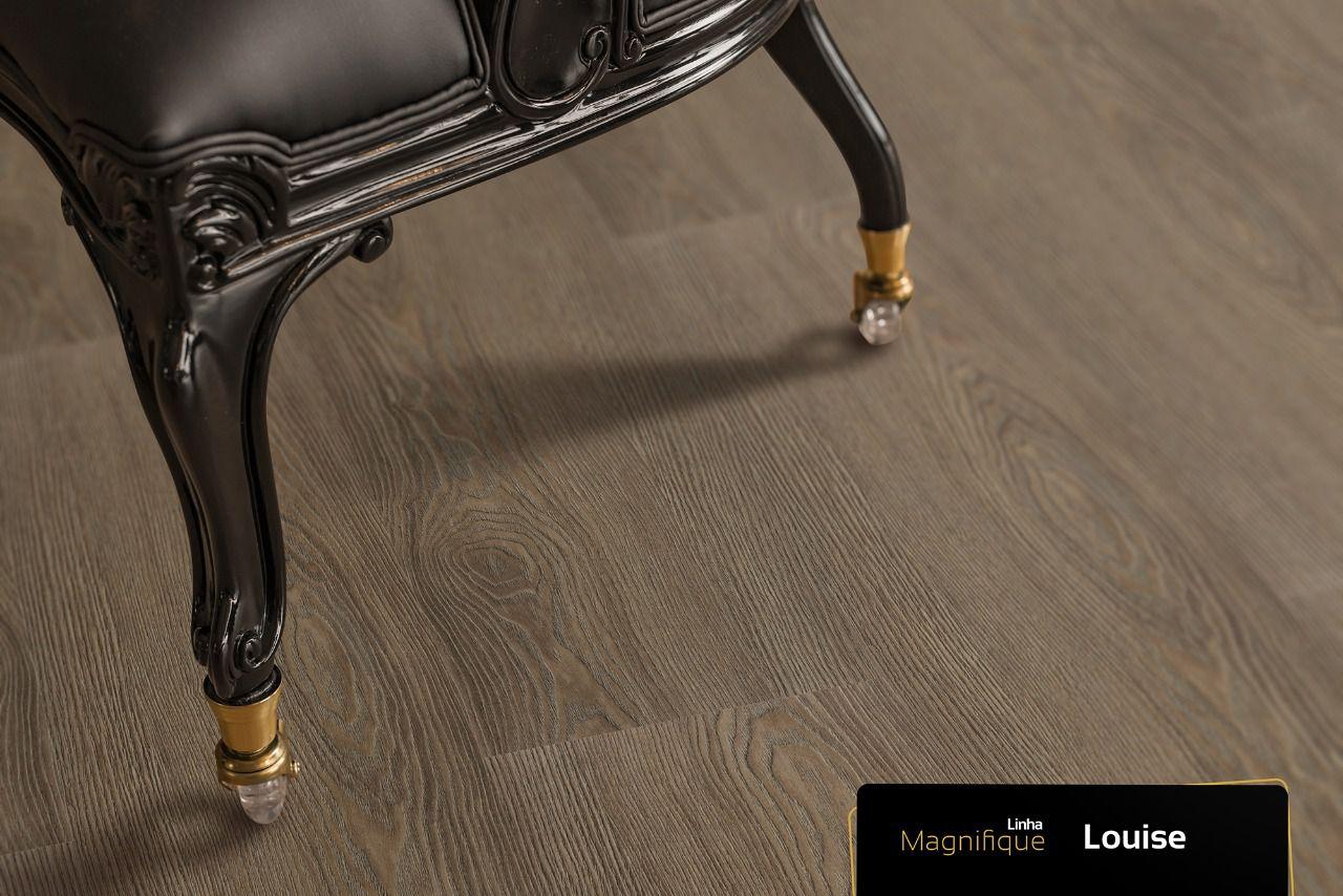 Piso Vinílico Régua 184 x 1220mm Arquitech Magnifique 2mm Por M2 Semelhante ao Piso Laminado