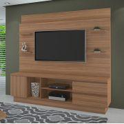 Estante Home para TV até 60 Polegadas Buran Cor Naturale JCM Movelaria - Casa dos Móveis Ubá