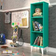 Estante Livreiro 2 Prateleiras Twister Tcil Móveis