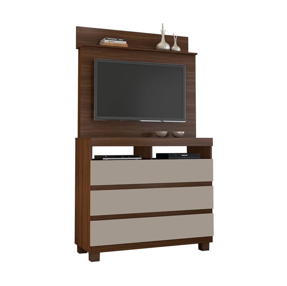 Cômoda Com Painel Para TV de até 42 Polegadas Pampulha JCM Móveis