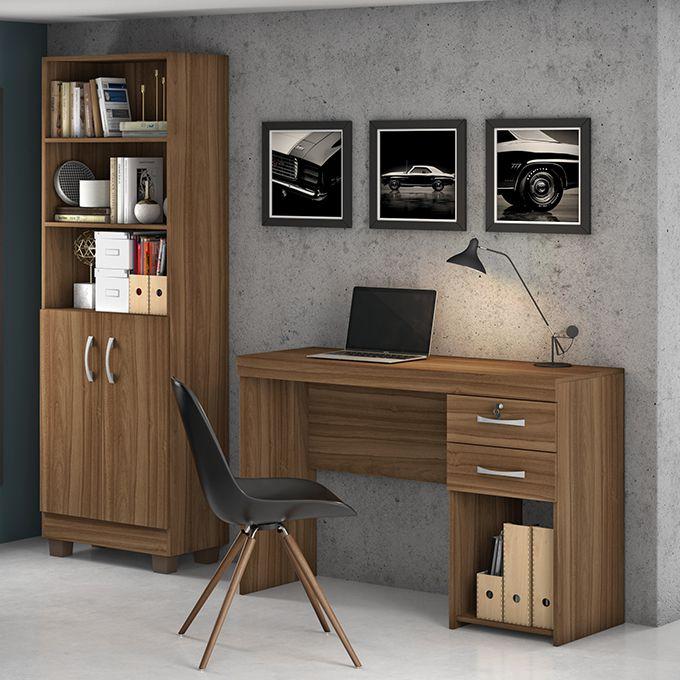 Conjunto Office Iara 2 peças Jcm Movelaria
